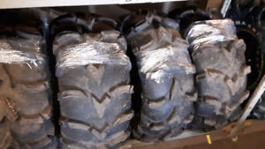 Used ITP Mud Lite Tires, 26x10x12 & 26x12x12, Good Condition