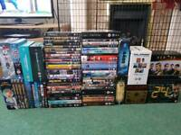 Bundle/job lot of dvds, boxsets and blurays