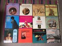 Opera + Classical Vinyl Records, LP's Box Set's