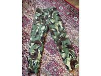*£15*Army Surplus British Combat Trousers waist 28-30 L30 VGC