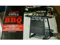 New George Expert grill 2 burner gas bbq