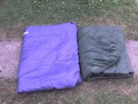 2 Sleeping Bags (A Double Sleeping Bag + a Single Bag)