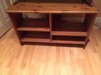 IKEA Dark Pine Corner TV/Hi-Fi stand
