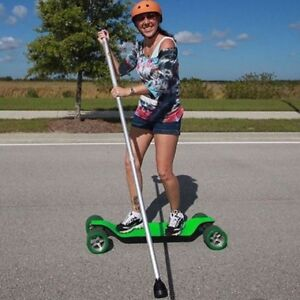 Land Paddle for Long board, skateboard, roller blades