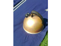 Camping/ gas kettle - beautiful gold colour with whistle