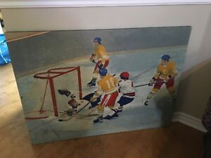 Hockey Tapestry