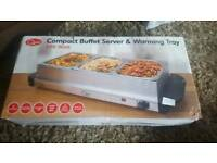Buffet server/food warmer