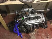 Honda Civic EK Complete Engine Conversion B16a2 S4C P30 OBD2A or B