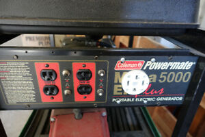 Coleman Powermate Portable Electric Generator
