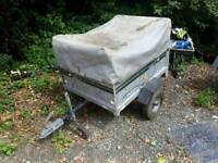 trailer daxara 107 4 by 3 with cover