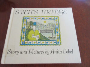 Vintage Hard Cover -Sven's Bridge By Anita Lobel 1965