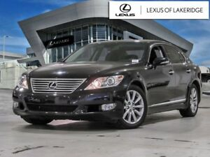 2011 Lexus LS 460 SWB, One Owner, No Accidents, LOW KM