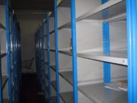 dexion impex industrial shelving 2.4m high ( storage , pallet racking )
