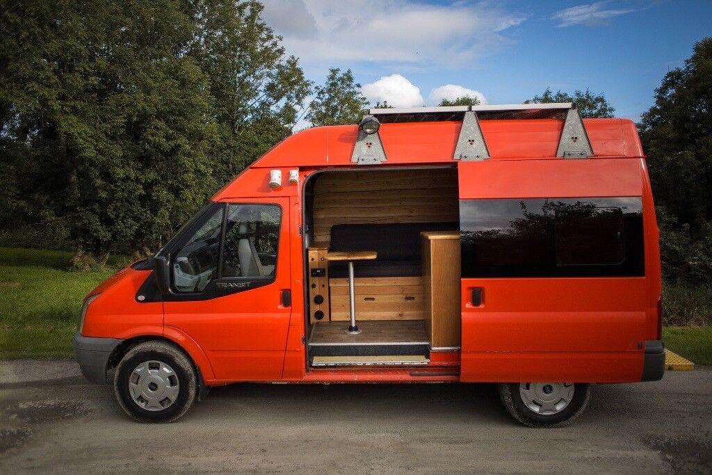 Ford Transit Mk7 Campervan Converted Camper Heater Solar Panels