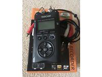 TASCAM DR-40 v2 4 Track Audio Recorder