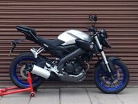 Yamaha MT 125 ABS 2015. Only 2049 miles. Delivery Available *Credit & Debit Cards Accepted*