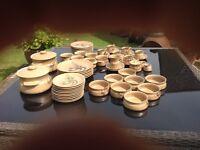 Barbara Davidson Stoneware Pottery Dinner Service