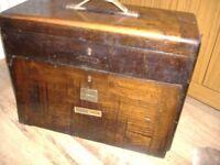 vintage nelein engineers/toolmakers/machinst lockable tool chest