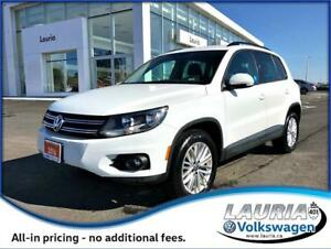 2016 Volkswagen Tiguan 4Motion AWD Special Edition