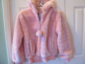 Girl's Pink Plush Jacket