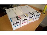 full set of brand new toners for Kyocera 250ci & 300ci TK865M