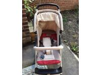 5 pieces travel system push chair