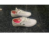 Lacoste Trainers size 5.5