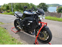 Triumph Speed Triple 1050 black