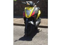 Kymco agility rs 50, starts first time, recent new battery
