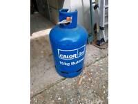 Gas bottle 3/4 full
