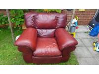 BARGAIN Leather sofa MUST BE GONE TODAY
