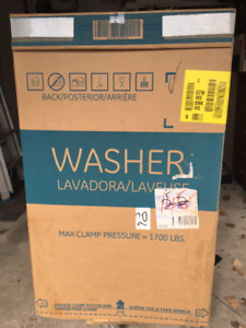 ge washer new in the box