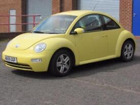 2005/55 Volkswagen Beetle 1.6, 6 MONTHS BRONZE WARRANTY