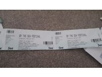 X2 tickets to see the libertines @ by the sea festival in Margate - Sunday 1st October