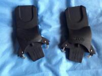 Baby car seat adapters