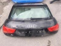 Complere audi a1 bootlid boot tailgate with back lights