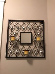 Mirror + Candle Holder