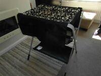 IKEA SPOLING CHANGING TABLE-BLACK & WHITE