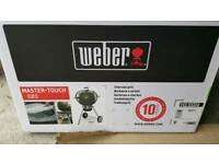 Weber® Master-Touch™ 57cm GBS™ Smoke Charcoal BBQ