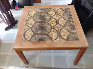Wooden heavy table