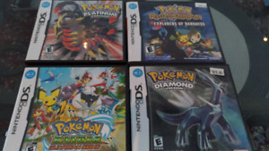 Nintendo ds games , $90 for all 10