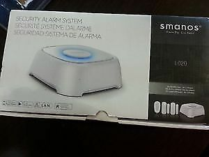 Smanos Burglar Security Wireless Network Enabled Alarm System
