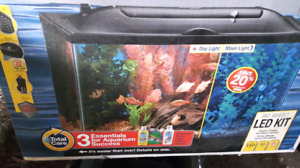 10 gallon for sale with everything that came with it in this box