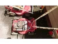 Mountfield m4 de-luxe vintage petrol lawn mower