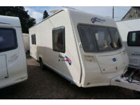 2007 BAILEY PAGEANT PROVENCE 5 BERTH CARAVAN - DOUBLE DINETTE - GREAT SPEC