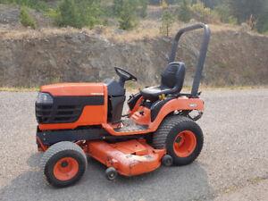 "2001 Kubota BX1800 4x4 Diesel tractor w/ 60"" belly mower deck"