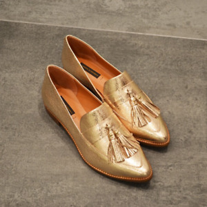 NEW Shine Gold Mocassin - Imported from Brazil