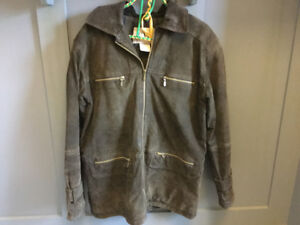 Brown Sweude eW Jacket size S