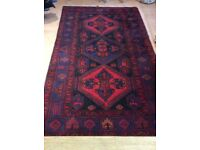 Handwoven Wool Rug - Fenwick of Leicester
