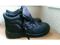 MENS MENS Steel ST CHUKKA BLACK SAFETY Boots WORK SAFETY Shoes UK 11 Dickies